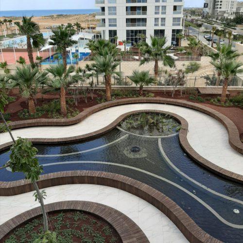 דירה מרווחת עם נוף פרונטלי לים